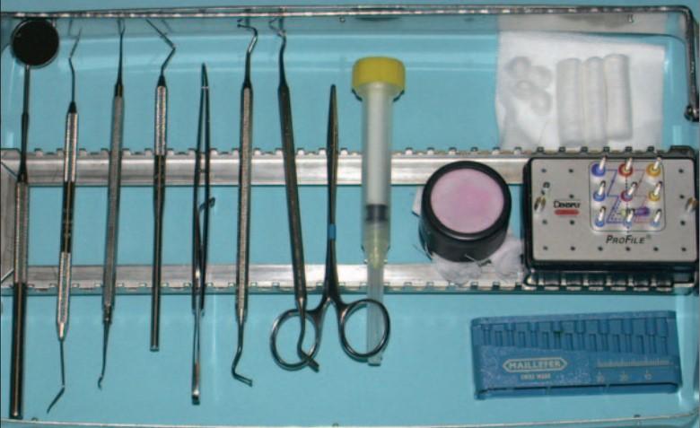 ابزار های درمان ریشه (عصب کشی)